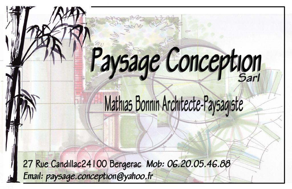 Paysage Conception